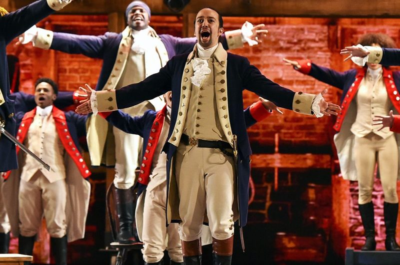 Lin-Manuel Miranda of 'Hamilton' performs onstage during the 70th Annual Tony Awards at The Beacon Theatre on June 12, 2016 in New York City. (Theo Wargo/Getty Images for Tony Awards Productions)