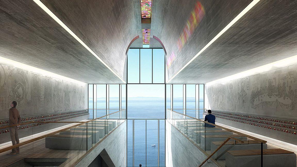 Lux Aeterna interior.(OPA)