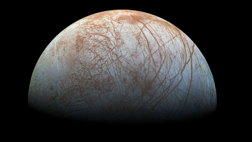 Europa is one of the best search targets for extra-terrestrial life in the Solar System (NASA)