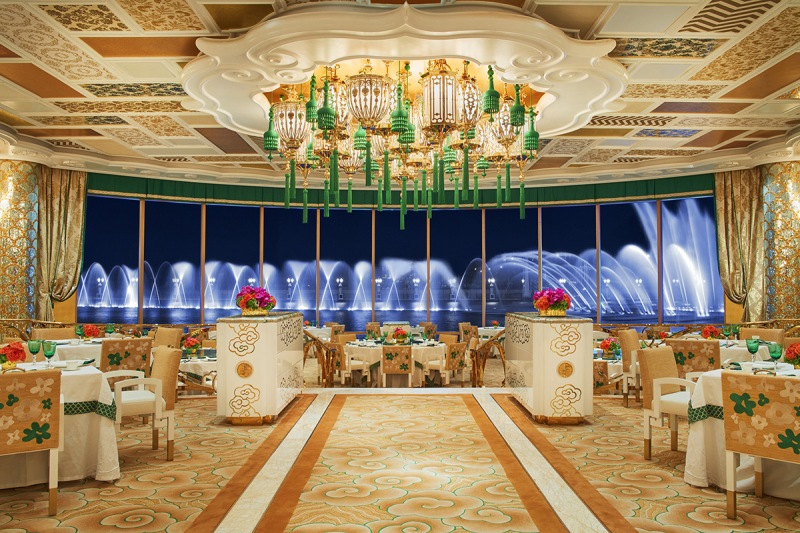 The Wing Lei Palace main dining room. Wynn Resorts)