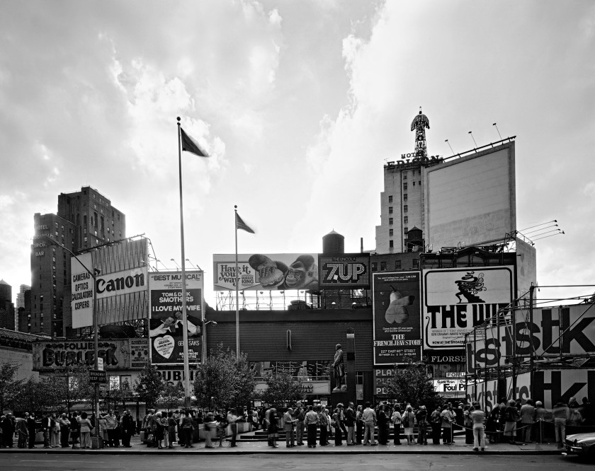 Times Square at Duffy Square, 1977 (Philip Trager, published by Steidl)