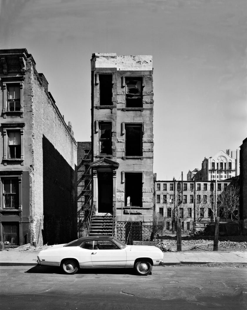 West 122nd Street, 1979 (Philip Trager, published by Steidl)