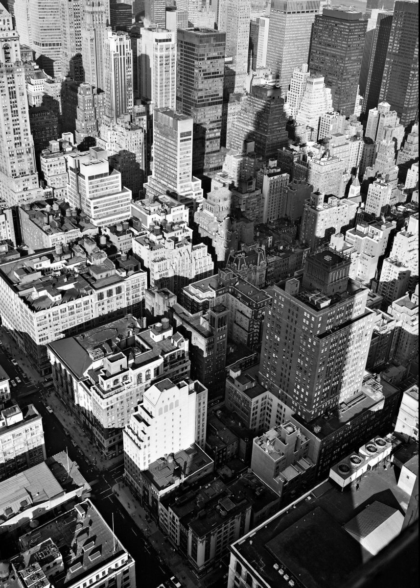 From the Empire State Building, 1978 (Philip Trager)