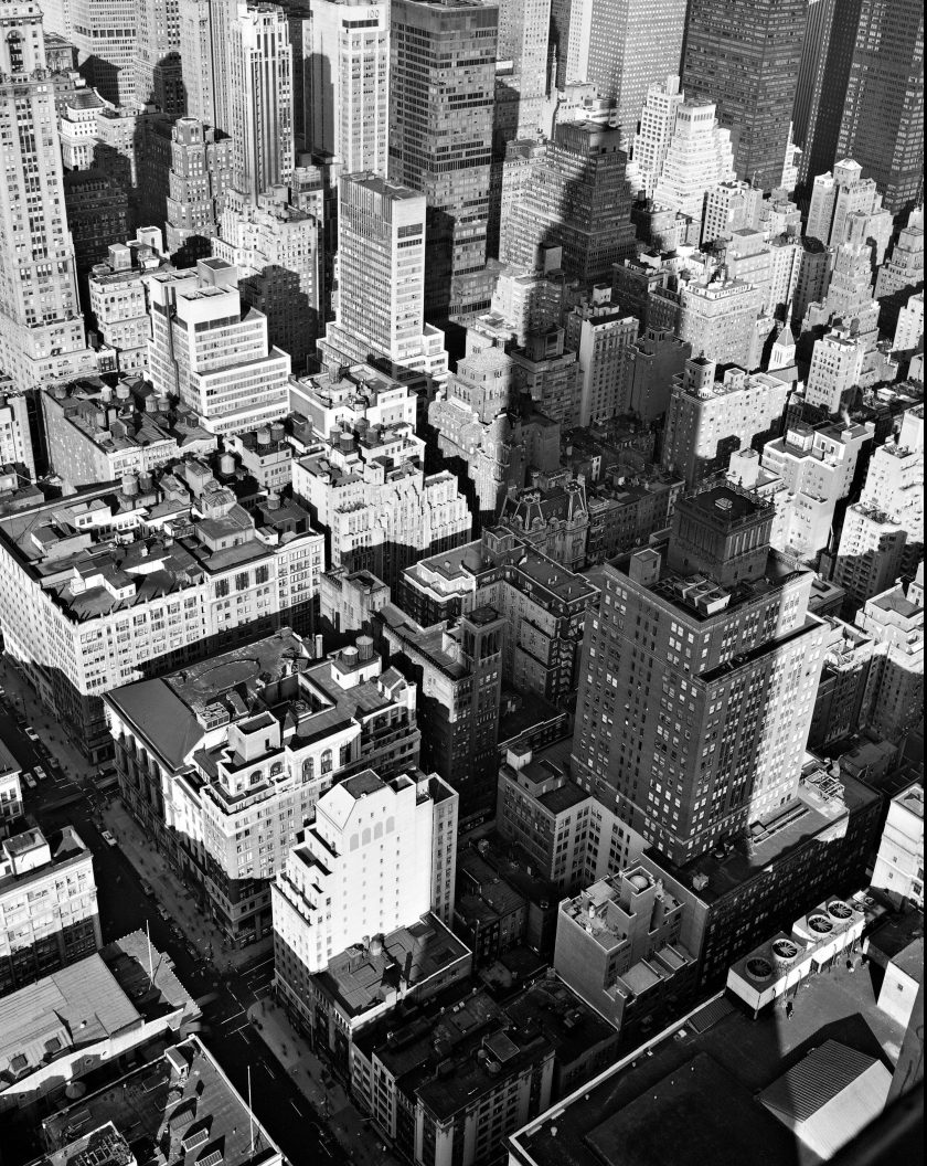 From the Empire State Building, 1978 (Philip Trager, published by Steidl)