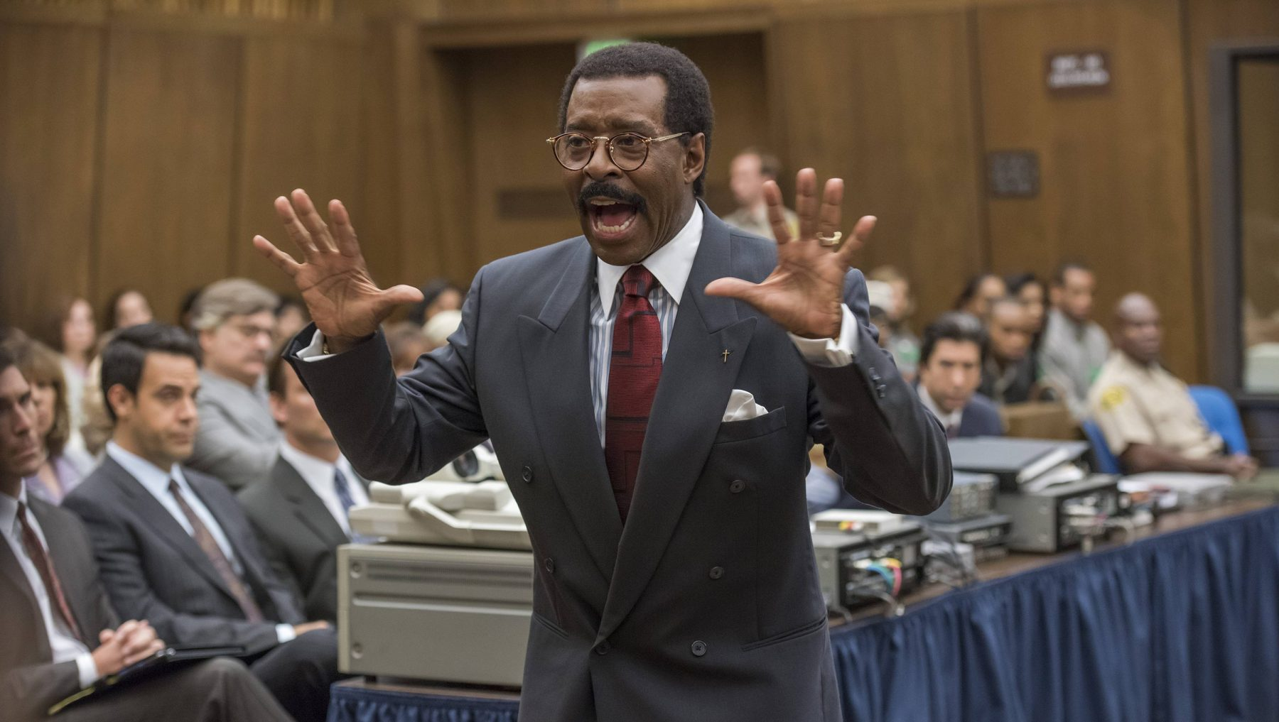 "Courtney B. Vance as Johnnie Cochran in ""The People v. O.J. Simpson: American Crime Story""  (Prashant Gupta/FX)"