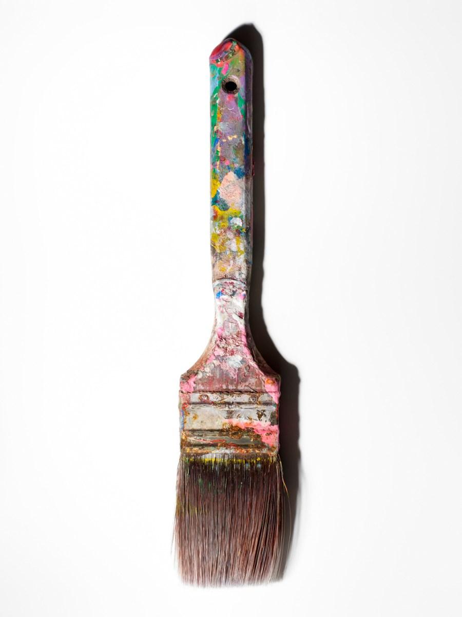 Andy Warhol's paintbrush. (Henry Leutwyler)
