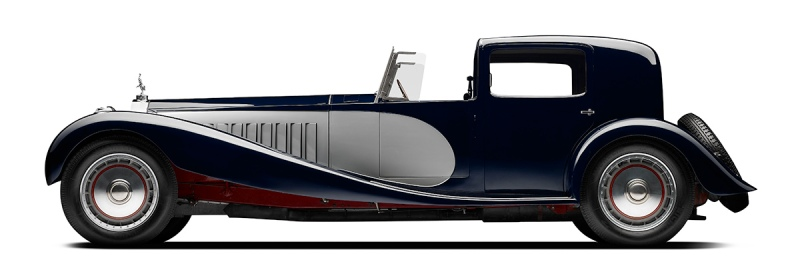 1932 Bugatti Royale Type 41 Coupe de Ville-side (Courtesy of The Petersen Automotive Museum)
