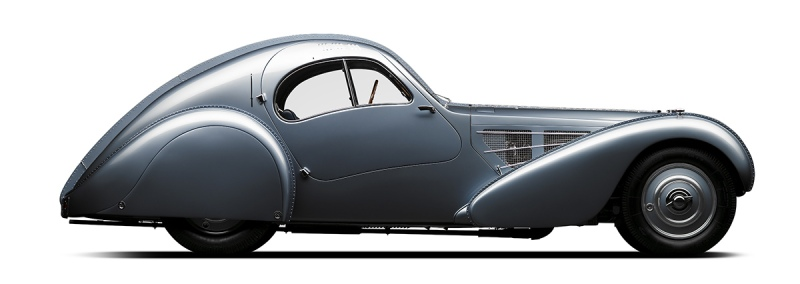 1935 Bugatti Type 57SC Atlantic (Courtesy of The Petersen Automotive Museum)