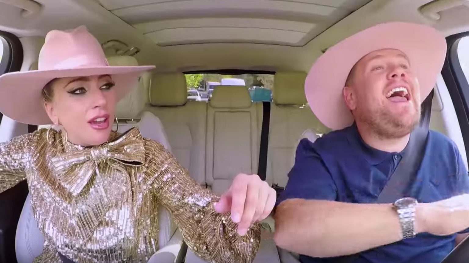 James Corden's Emmy-Winning 'Carpool Karaoke' Nabs Lady Gaga
