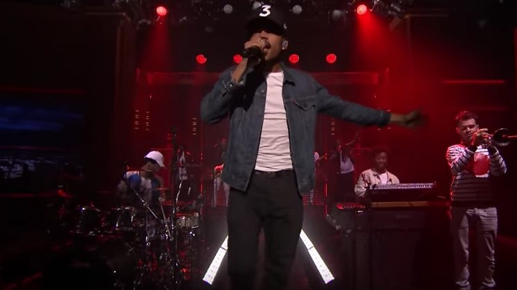 Chance the Rapper Brings 'Blessings' to Fallon