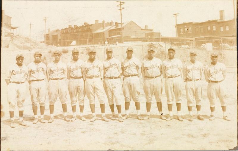 Negro Leagues Team Photo