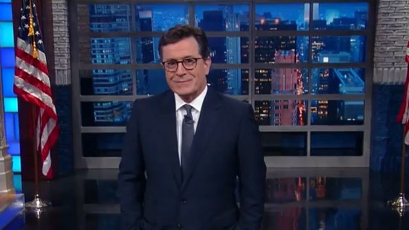 Stephen Colbert Airs Live Recap After the Vice Presidential Debate