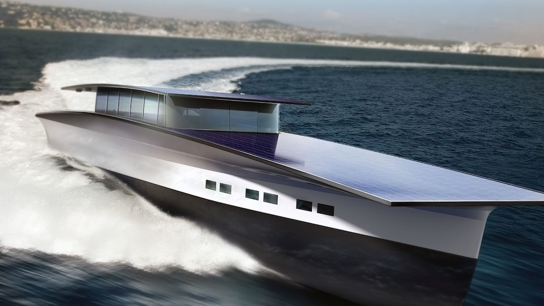 Behold a Solar-Powered Luxury Yacht Concept from Duffy London