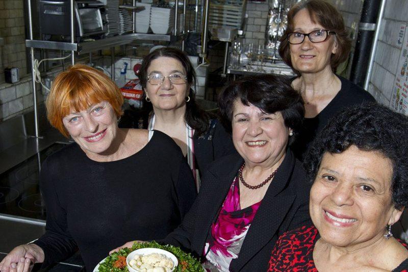 Grandmas Cook at Restaurant