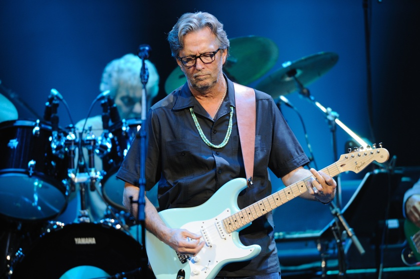 Eric Clapton performs on stage at Royal Albert Hall on May 26, 2011 in London, United Kingdom. (Gus Stewart/Redferns)