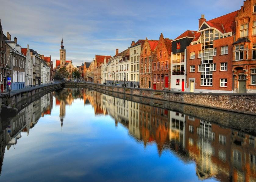 Scenic Bruges, Belgium (Aubrey Stoll/Creative RF/Getty Images)
