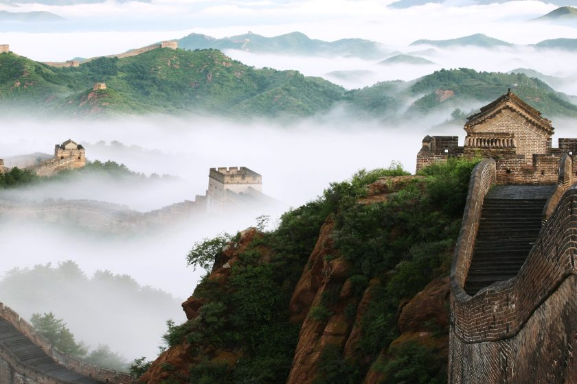 Jinshanling, a portion of the Great Wall near Beijing, China (View Stock/Getty Images)