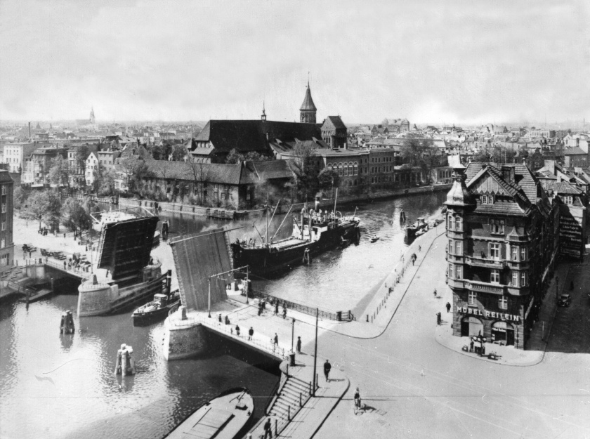 Königsberg, a Russian seaport, presented a math problem in the 1730s (ullstein bild via Getty Images)
