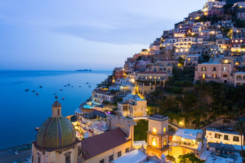 Seaside at Positano on Italy's Amalfi Coast (Getty Images)