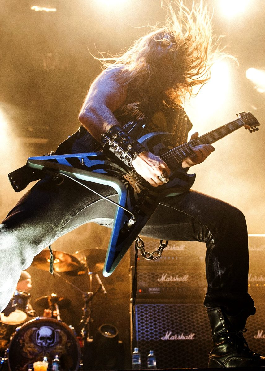 A heavy metal band Black Label Society performs a live concert in Norway. (Gonzales Photo/Jan-Erik Eriksen/The Hell Gate/Corbis via Getty Images)
