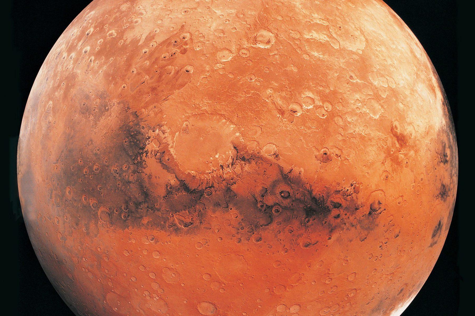 Methane gas on Mars