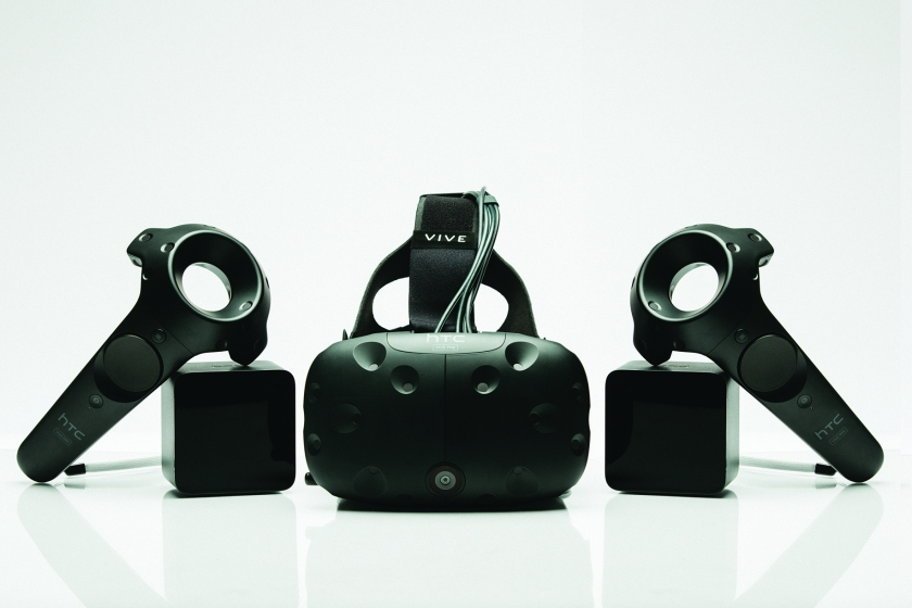 HTC launched their virtual reality app store for their headset Vive in September.