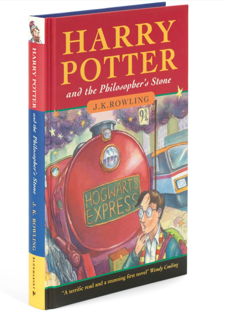 First edition of Harry Potter and the Philosopher's Stone (Bonhams)