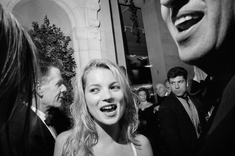Kate Moss at the Metropolitan Museum of Art's Costume Institute Gala, NYC, 1995 (Miles Ladin)