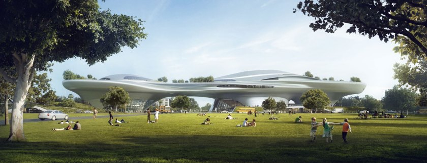 The Los Angeles Proposal (Courtesy Lucas Museum of Narrative Art)