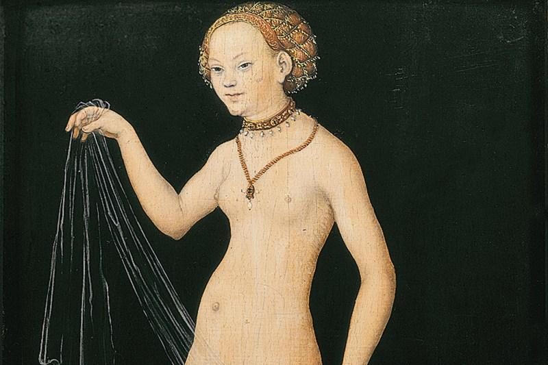 'Venus' by Lucas Cranach the Elder (Wikimedia Commons)