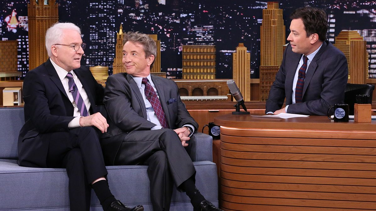 Steve Martin and Martin Short on 'Fallon'