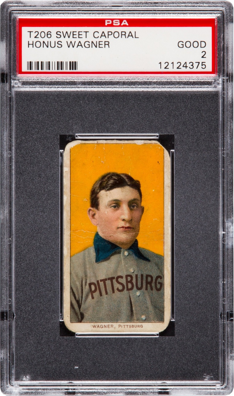 Heres Your Chance To Own A T206 Honus Wagner The Worlds Most