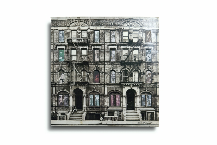 Led Zeppelin's 'Physical Graffiti;' Released by Swan Song in 1975; photographed by Elliott Erwitt (Aperture, 2016)