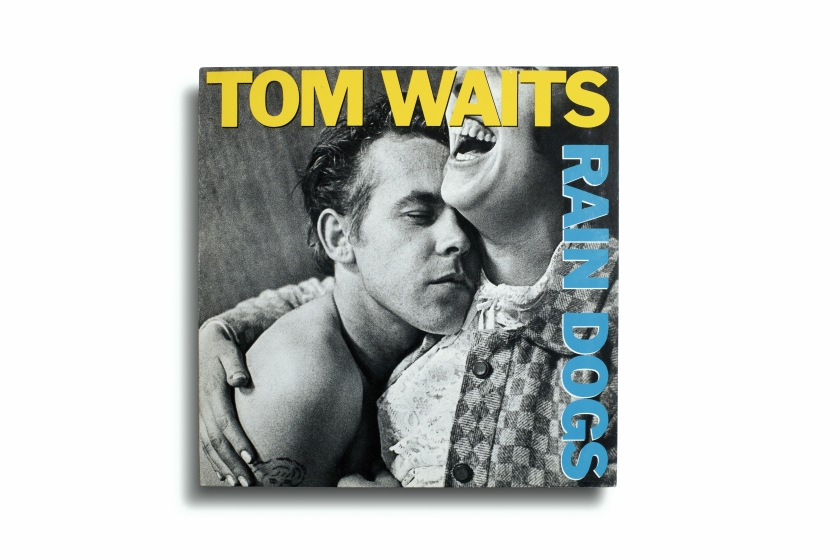 Album art for Tom Waits', 'Rain Dogs;' Released by Island Records in 1985; Photographed by Anders Petersen (Aperture, 2016)