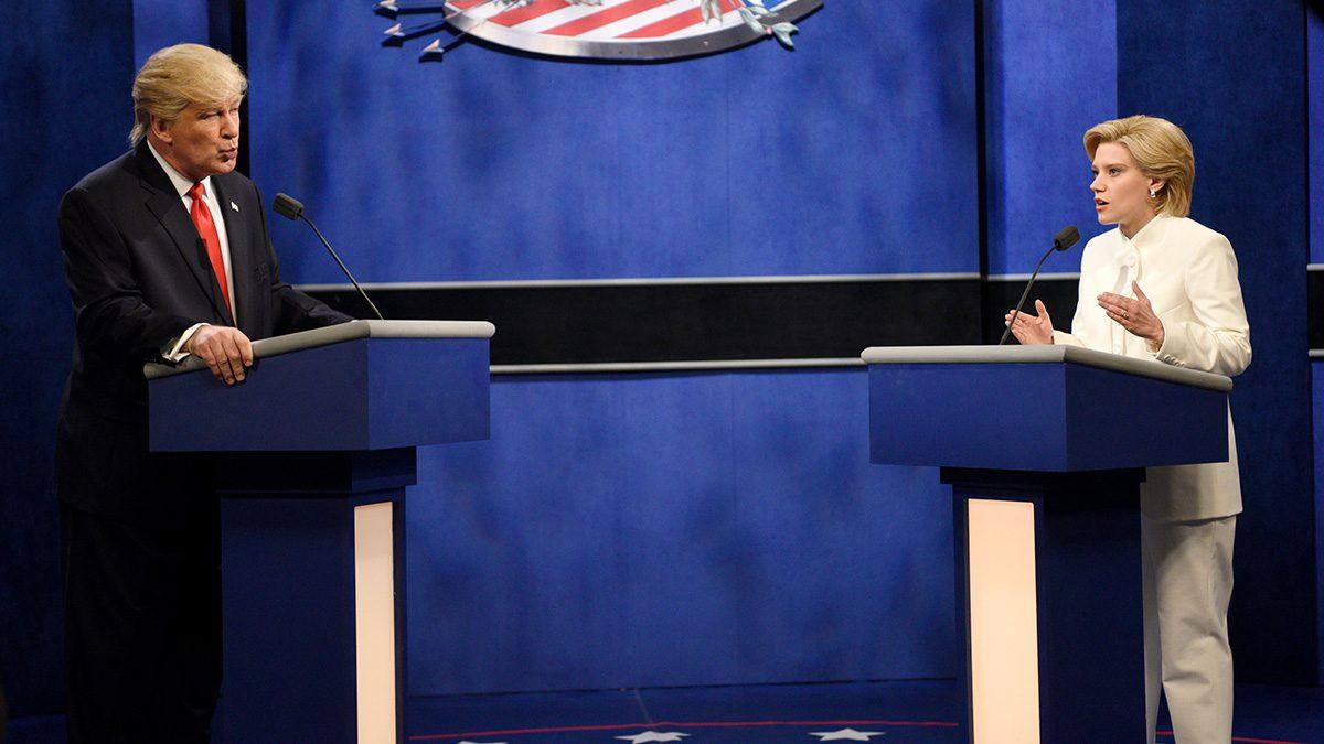 Trump-Clinton Debate on SNL