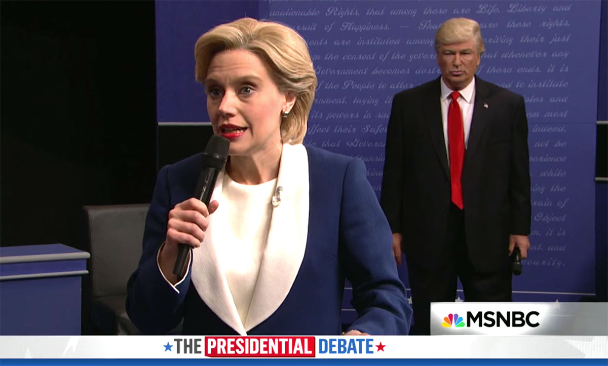 Alec Baldwin Returns to SNL as Donald Trump to Spoof Town Hall Presidential Debate