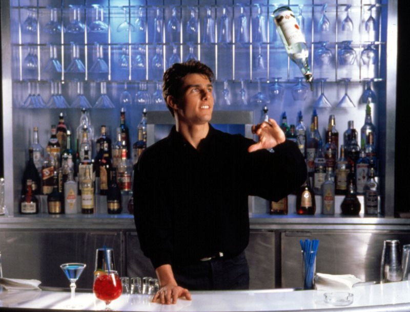 COCKTAIL, Tom Cruise, 1988 (Everett Collection)