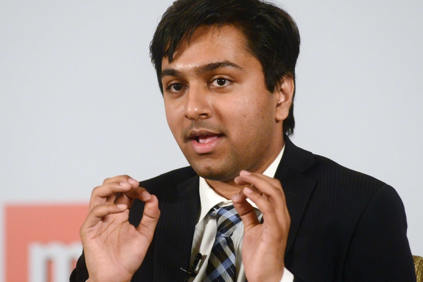 Saket Modi, Co Founder and CEO Of Lucideus Technolgy, speaking at Mint Cash to Digital Summit on November 6, 2015 in New Delhi, India. (Photo by Ramesh Pathania/Mint via Getty Images)