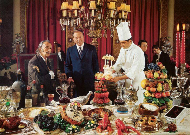 Salvador Dali's surrealist cookbook Les Diners de Gala (Taschen)
