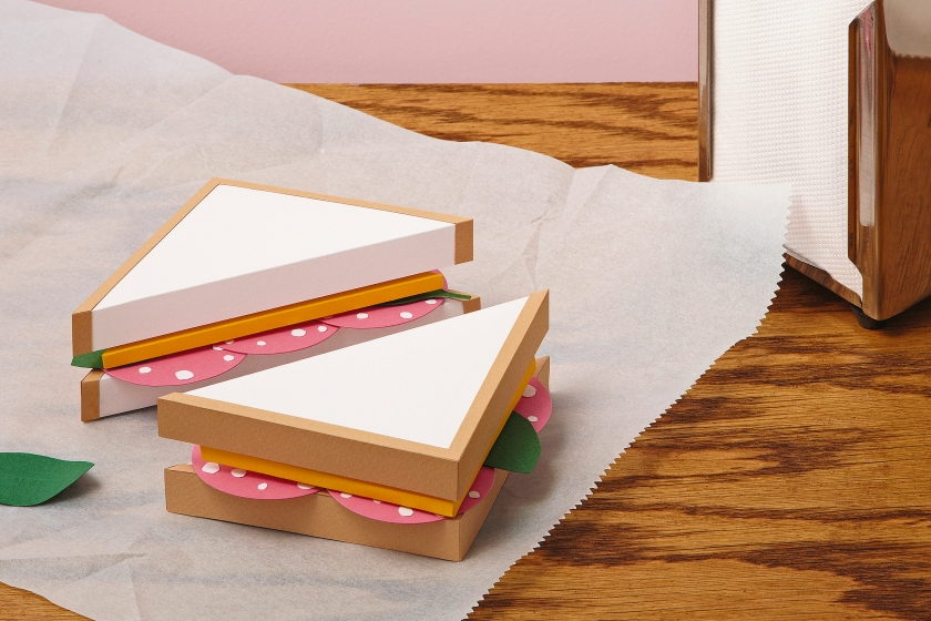 Photo illustration depicting a fake sandwich (Stone/Getty Images)