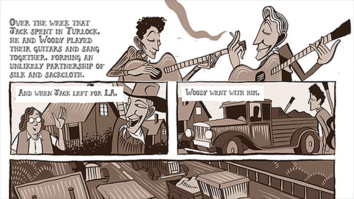 Woody Guthrie's Life Examined In Powerful Graphic Novel