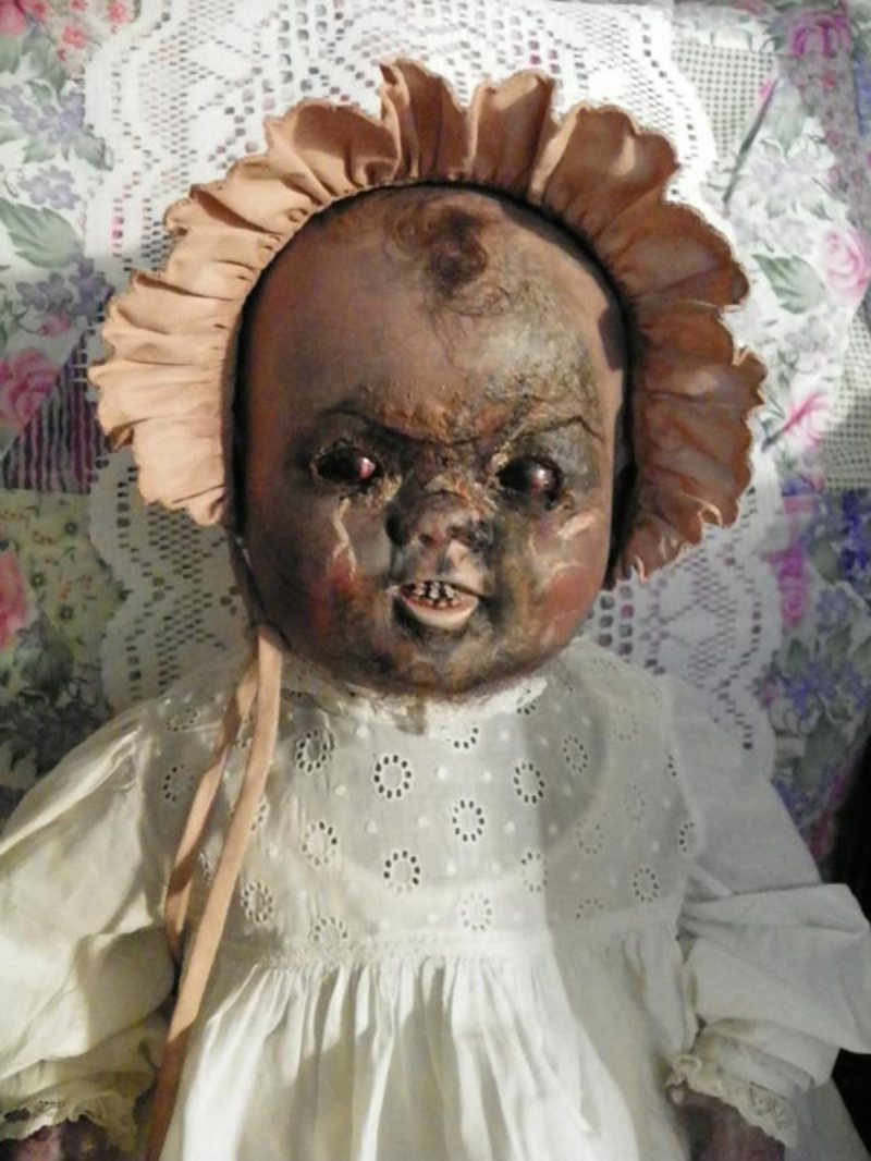 Haunted doll Bessie (eBay)