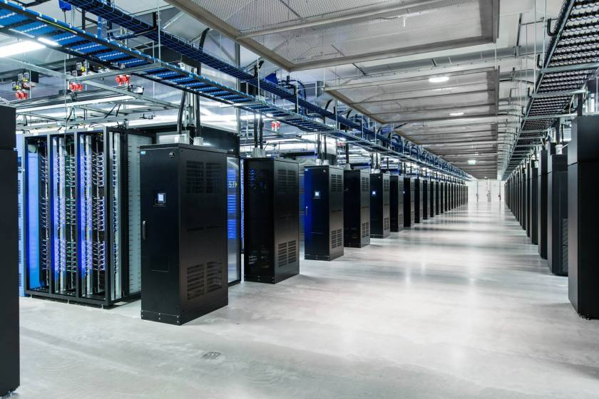 Inside its Lulea, Sweden data center campus, Facebook implemented server and data center designs outlined in its Open Compute Project, with custom designs for servers, power supplies and UPS units. (Facebook)