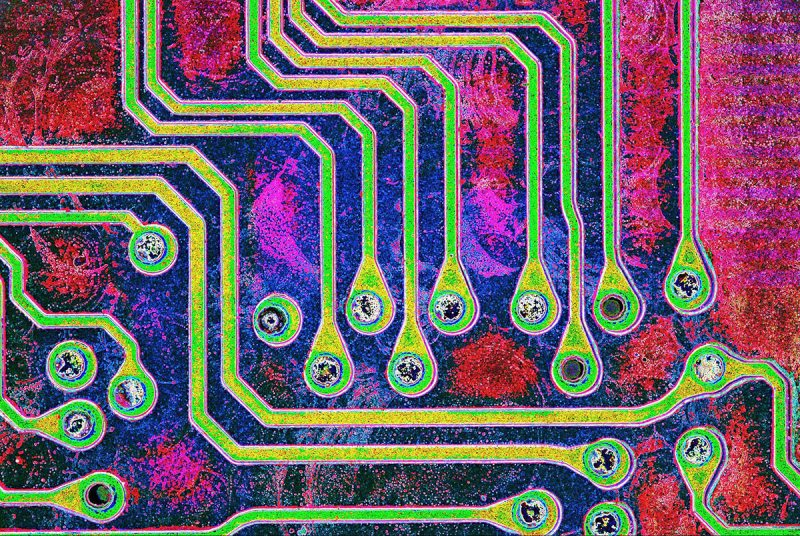 USA: Feature Rates Apply Mandatory Credit: Photo by SpikeWalker/RPS/Bournemouth/REX/Shutterstock (6047461s) Soldered connections on a computer memory stick Microscope images of creatures, vitamins, crystals, UK - Sep 2016 *Full story: http://www.rexfeatures.com/nanolink/srsr These incredible microscopic images of creatures, vitamins, crystals and even a fetus are to be recognised with an award from the Royal Photographic Society. Spike Walker has been fascinated by photomicrography since he got his first microscope just after the conclusion of the Second World War, when he was about 12-years-old. Now his life's passion is to be recognised with a Scientific Imaging Award from one of the world's oldest and prestigious photographic societies. The accolade is given to an individual for a body of photography which promotes public knowledge and understanding. The RPS said Spike's decades of work and immeasurable contribution to the field make him the perfect recipient.