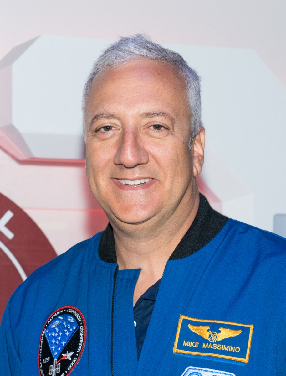 NASA astronaut Mike Massimino attends the Star Trek: The Star Fleet Academy Experience at Intrepid Sea-Air-Space Museum on June 30, 2016 in New York City (Noam Galai/WireImage)