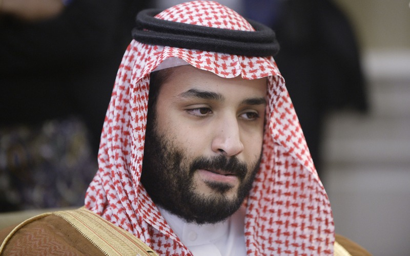 Deputy Crown Prince Mohammed bin Salman of Saudi Arabia looks on in the Oval Office at the White House May 13, 2015 in Washington, DC (Olivier Douliery - Pool/Getty Images)