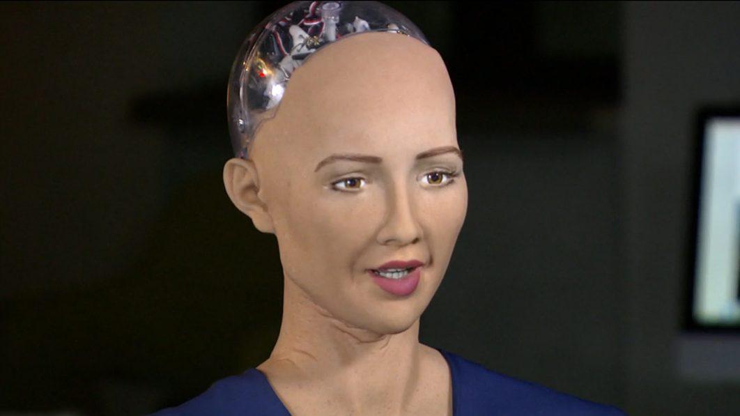 Charlie Rose Interviews a Robot Named 'Sophia' on '60 Minutes'