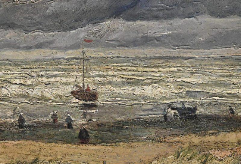 The Beach At Scheveningen During A Storm by Vincent Van Gogh (ANSA via AP)