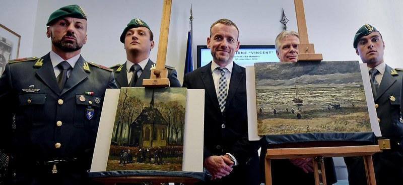 Vincent Van Gogh Paintings Returned