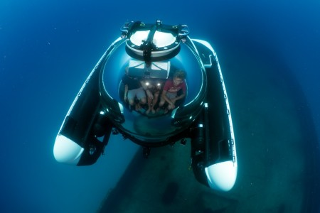 C-Explorer 3 diving in Malta, Summer 2015 (U-Boat Worx)